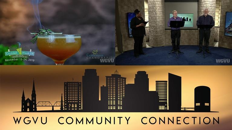 Community Connection: Cocktail Week and The Lit GR