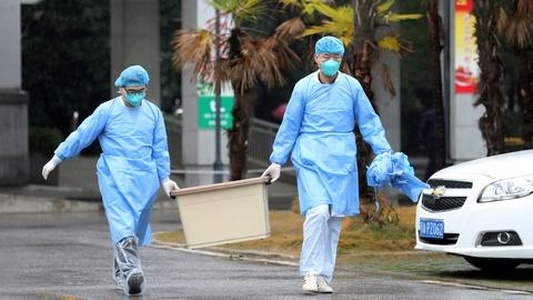 PBS NewsHour -- News Wrap: China's viral pneumonia spreads to the U.S.