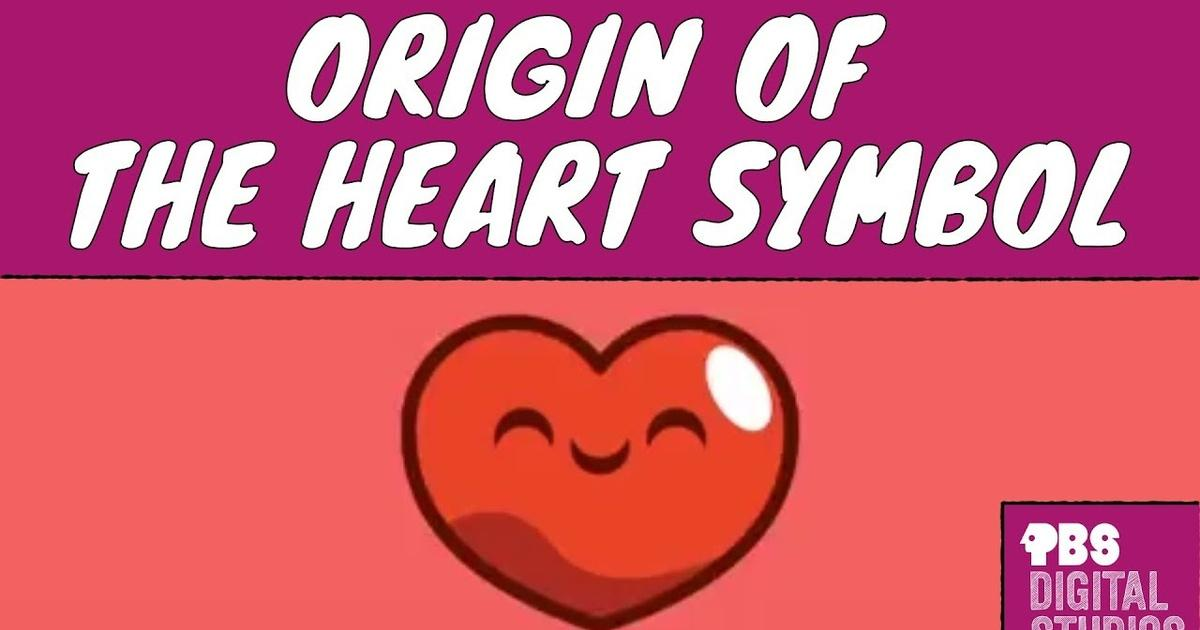 Why Does The Heart Symbol Look That Way Origin Of