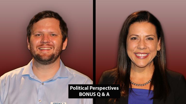 Political Perspectives: Political Perspectives: GE City Commission–Seat 3 (BONUS)