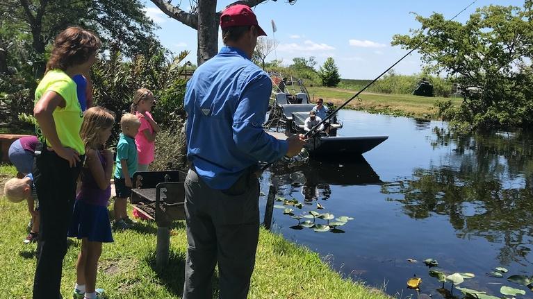 KidVision Pre-K: KidVision Pre-K Fishing Camp Field Trip