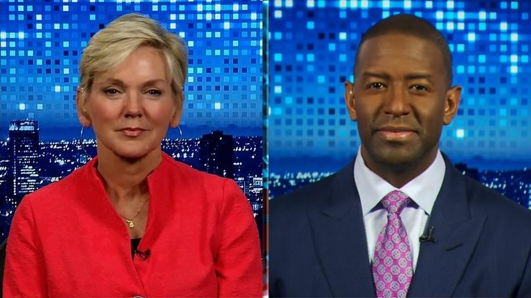 Amanpour and Company: Jennifer Granholm & Andrew Gillum: Looking Towards November