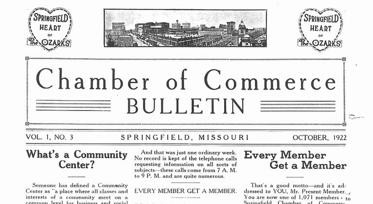 OzarksWatch Video Magazine: Springfield Area Chamber of Commerce-History & Legacy