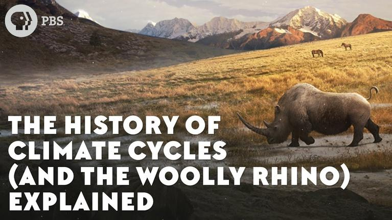 Eons: The History of Climate Cycles (and the Woolly Rhino) Explain