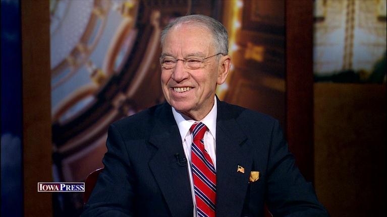 Iowa Press: Sen. Charles Grassley