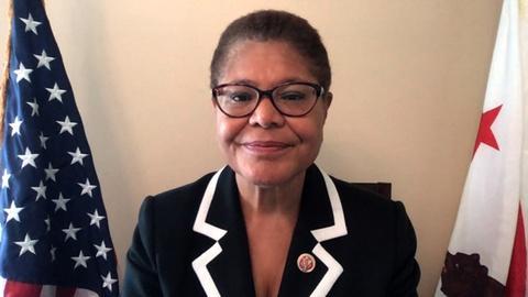 Rep. Karen Bass on Efforts Towards Police Accountability