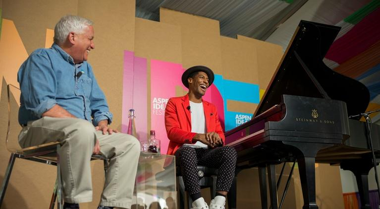 Aspen Ideas Festival: Music, Health, and Well-Being: Jon Batiste in Conversation w