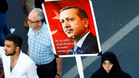 PBS NewsHour -- Turkey continues crackdown one year after failed coup