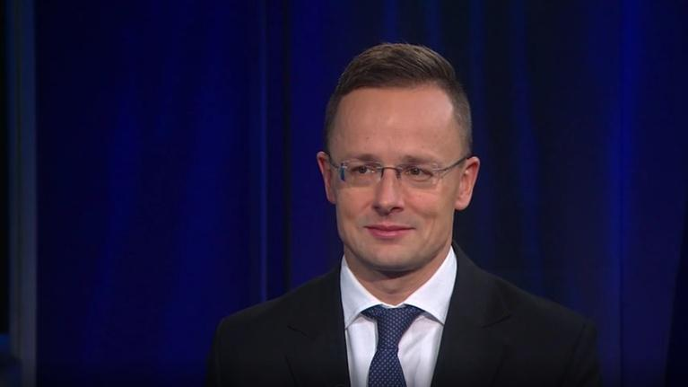 "Amanpour and Company: Péter Szijjártó on Macron's Claim that NATO is ""Brain Dead"""