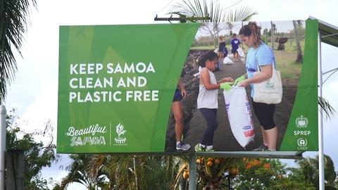 Samoa searching for alternatives to single-use plastics