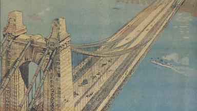 Joseph Pulitzer's and the Brooklyn Bridge