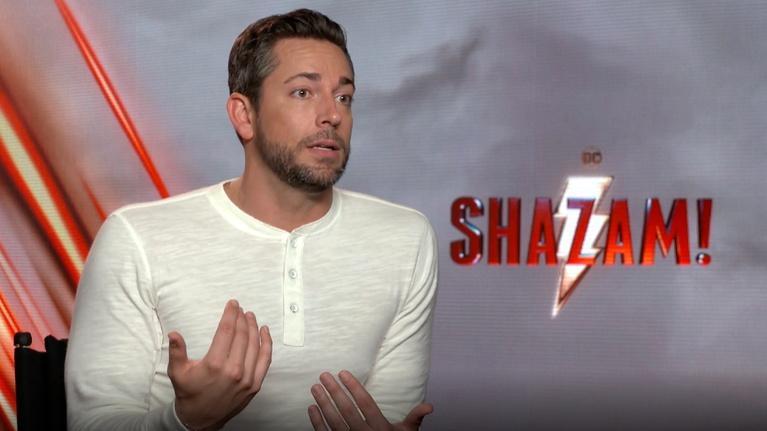 "Flicks: Zachary Levi for ""Shazam!"""