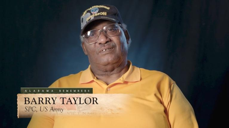Alabama Remembers Vietnam: Barry Taylor