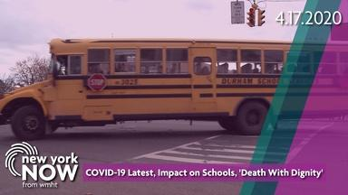 COVID-19 Latest, Impact on Schools, 'Death With Dignity'