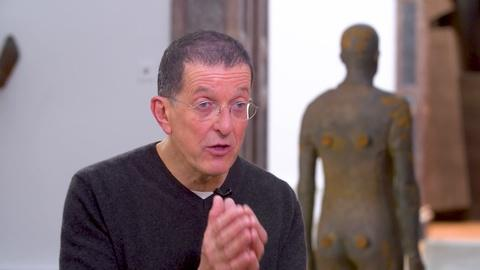 Amanpour and Company -- Antony Gormley Showcases His Exhibition at the Royal Academy