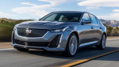 2021 Cadillac CT5 & 2021 Ford Bronco Sport