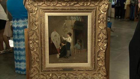 Antiques Roadshow -- S21 Ep13: Appraisal: Jean-Paul Haag Oil Painting, ca. 1885