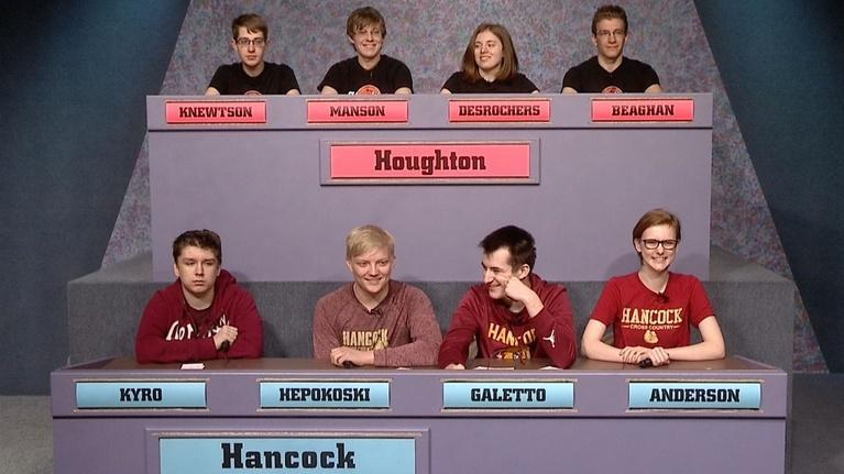 High School Bowl: 4137 2019 Semifinal 1: Houghton vs Hancock