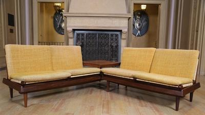 Appraisal: Hans Olsen Modular Living Room Set, ca. 1960