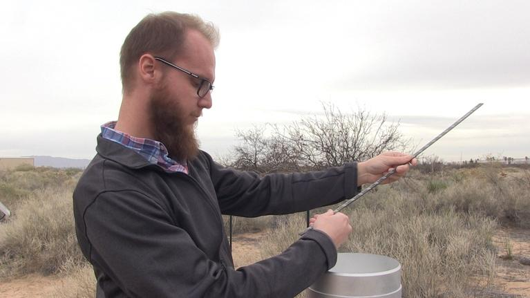Issues & Answers: New Mexicans Use Rain Gauges to Help Scientists Map Precip.