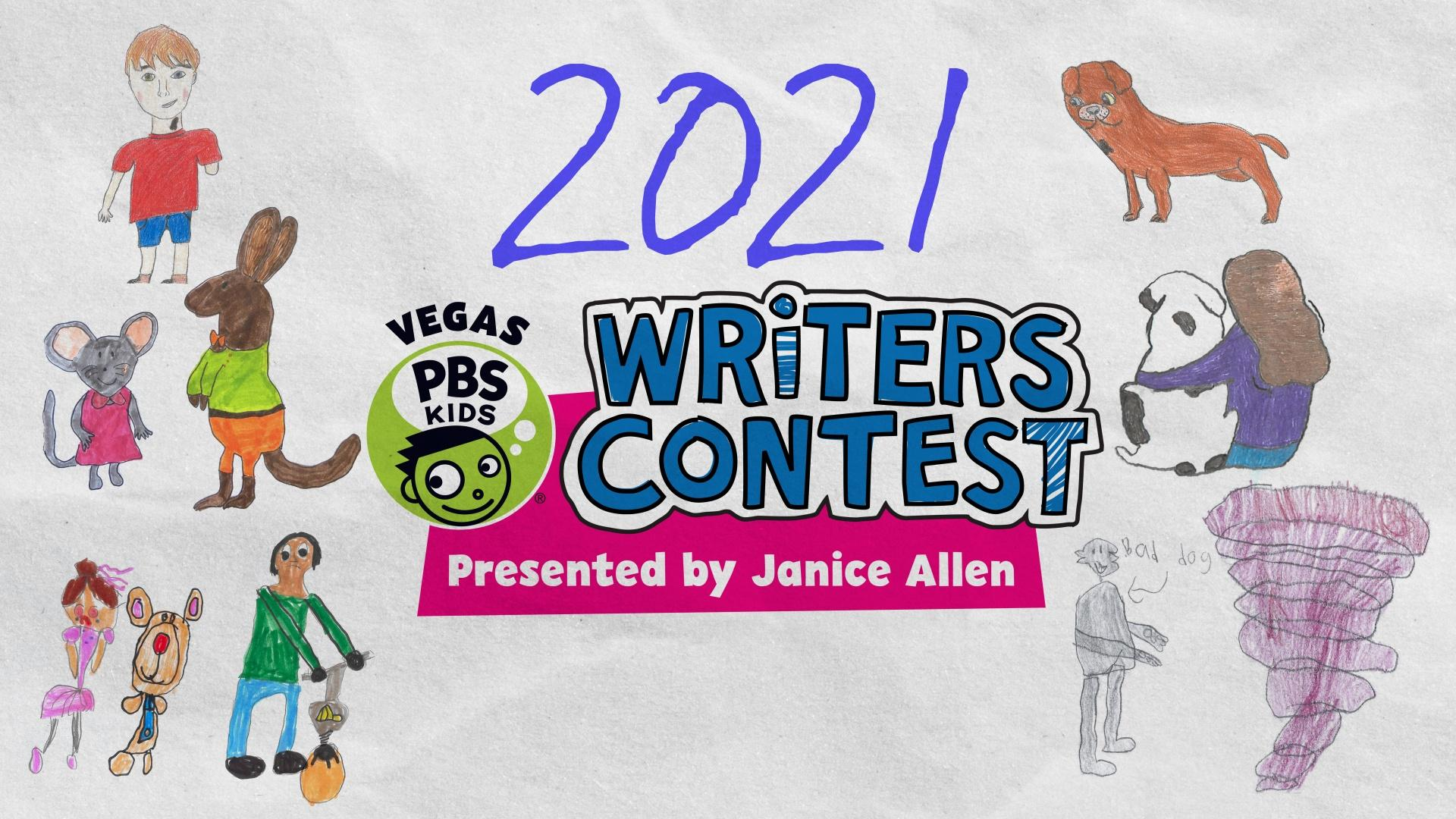 2021 VEGAS PBS KIDS Writers Contest Presented by Janice Allen