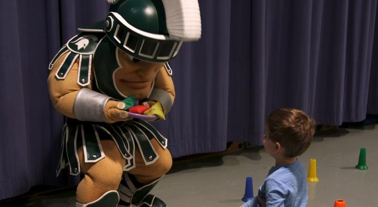 WKAR Family: Get Active with Sparty Time!