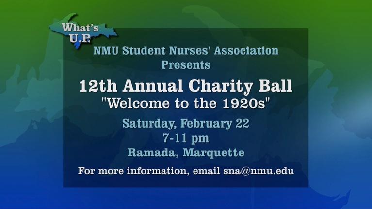 What's U.P.: Student Nurse's Association Charity Ball 2020