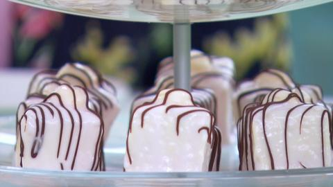 The Great British Baking Show -- Technical Challenge: Fondant Fancies
