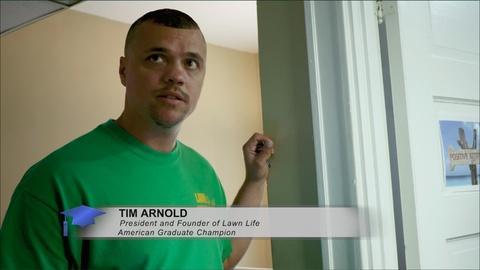 American Graduate Champion - Tim Arnold