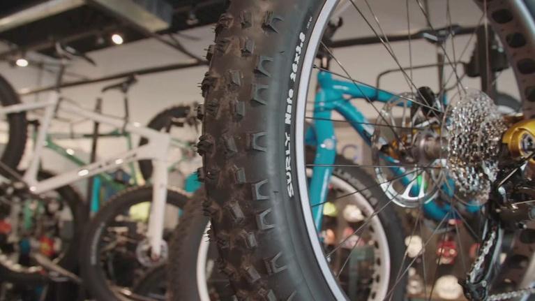 Mobile Cyclist: Traverse City and Cincinnati