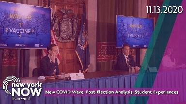 New COVID Wave, Post-Election Analysis, Student Experiences