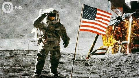 Origin of Everything -- Why Did We Plant a Flag on the Moon?