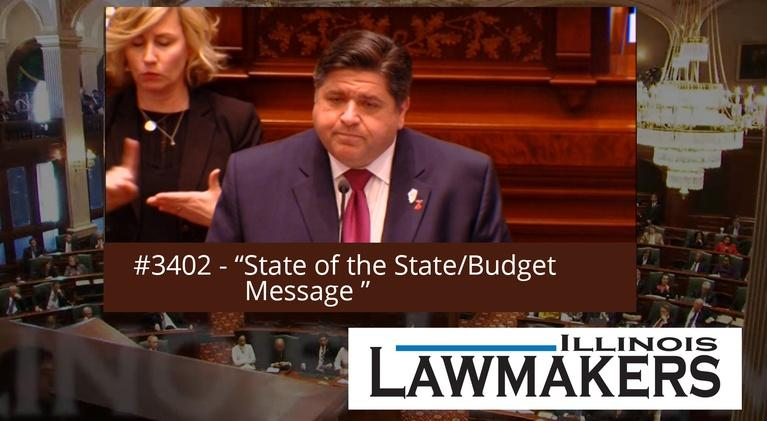 Illinois Lawmakers: S34 E02: State of the State/Budget Message