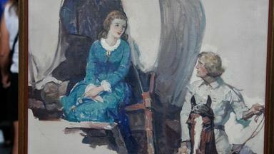 Appraisal: 1936 Frank E. Schoonover Oil Painting