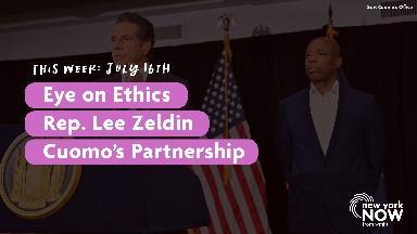 Eye on Ethics, Rep. Lee Zeldin, Cuomo's Partnership