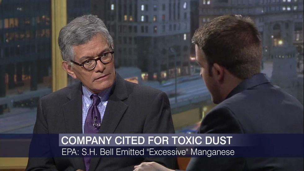 EPA Cites S.H. Bell for 'Excessive Manganese Emissions' image