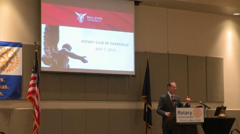 Evansville Rotary Club: Regional Voices: Geoffrey Mearns, Ball State University