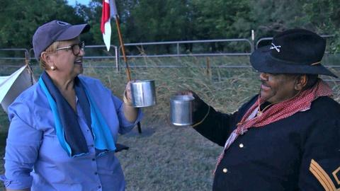 Lidia Cooks in the Tradition of the Buffalo Soldiers