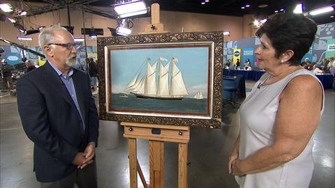 Antiques Roadshow -- S21 Ep17: Appraisal: Thomas Willis Silkwork & Oil Painting,