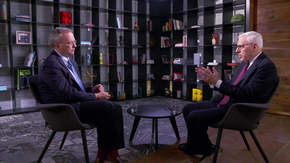 Eric Schmidt Interview Excerpt image