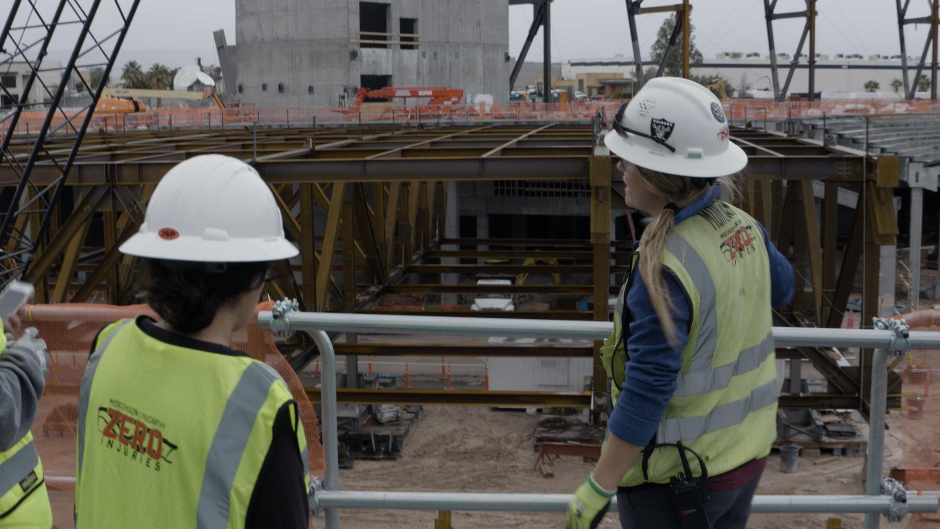 Construction of Las Vegas Stadium Work-Based Lear