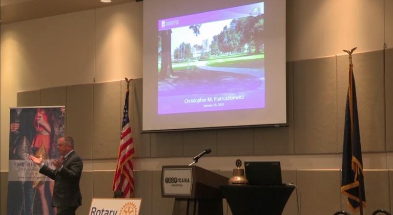 Evansville Rotary Club: Regional Voices: Christopher Pietruszkiewicz,President of UE