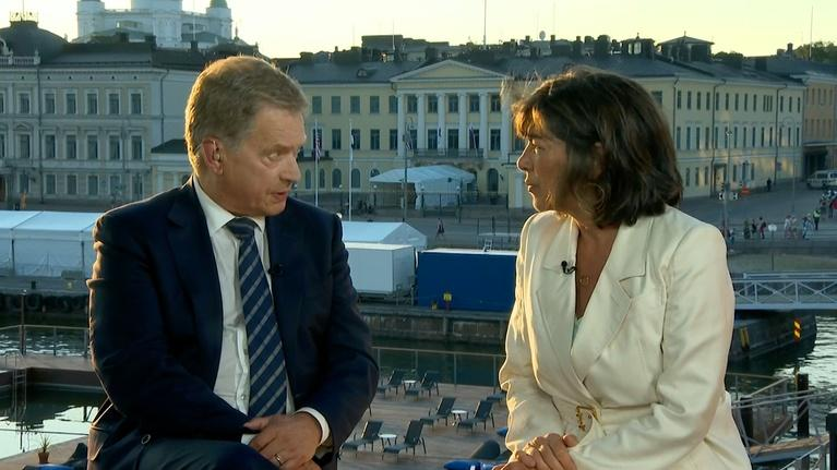 Amanpour on PBS: Amanpour: Sauli Niinistö, William Burns and Alexey Pushkov