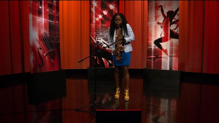 "Open Studio with Jared Bowen: Tia Fuller performs ""The Coming"""