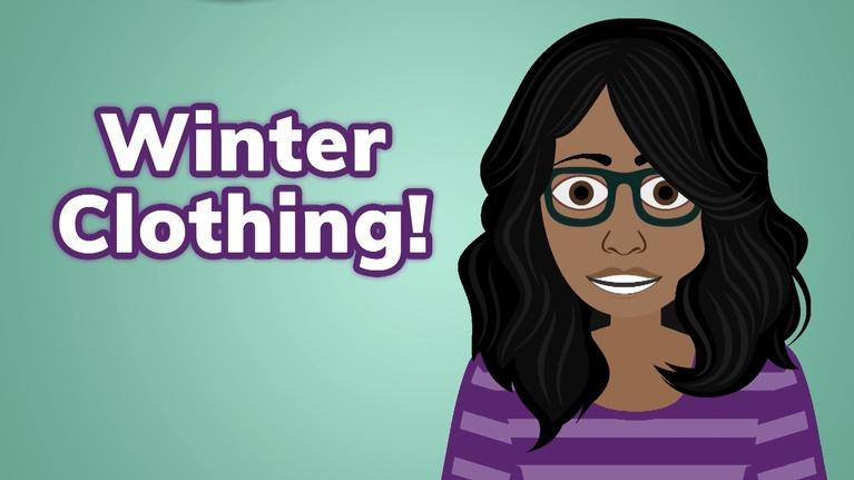 Spanish with Esmeralda!: Learn the Spanish Words for Common Winter Clothing Items