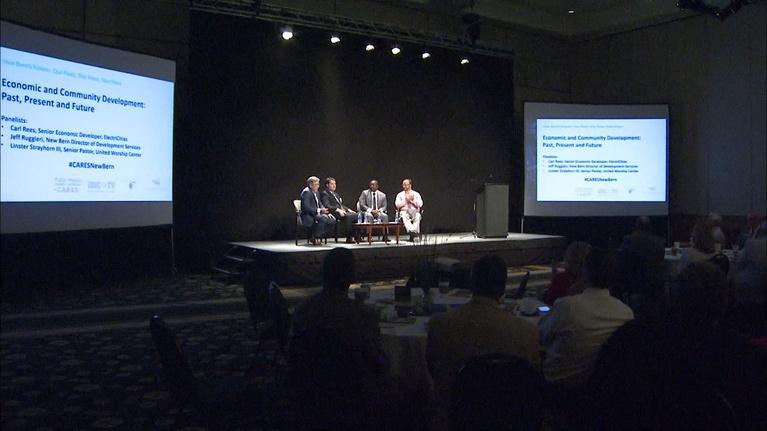 "Public Media North Carolina Cares: PMNC Cares: New Bern - ""What's Next for New Bern"""