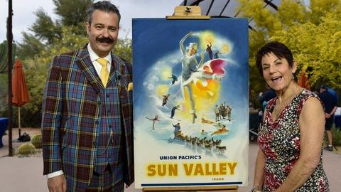 Antiques Roadshow -- Appraisal: Sun Valley Poster Maquette, ca.1945