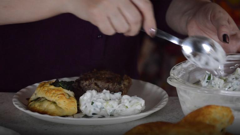 Just Like That! Cooking with Patricia Martinez: Kibbeh, Tzatziki & Spinach Empanadas