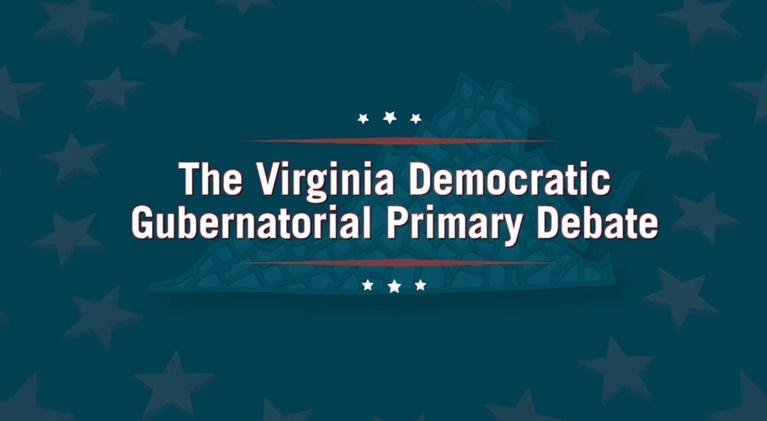 WHRO Presents: Democratic Candidates for Governor Face Off at WHRO