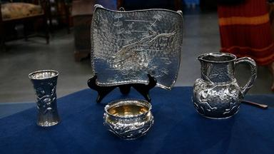 Appraisal: Tiffany & Co. Silver Collection, ca. 1885